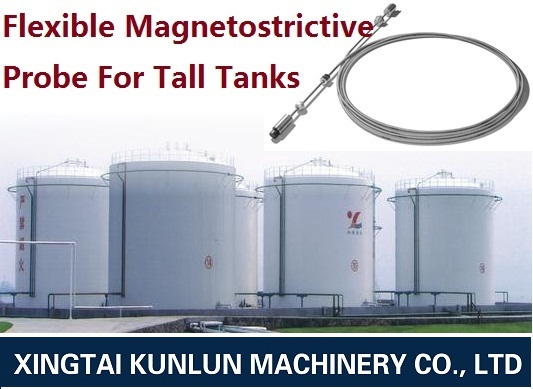 Flexible Magnetostrictive Probe For Tall Tanks